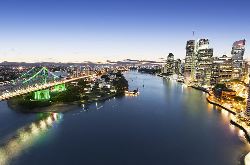 Brisbane Boundary 1 Bed corporate apartment view