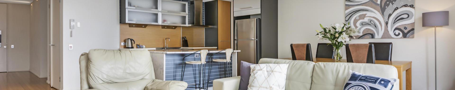 Perth Hay 1 bed corporate apartment lounge