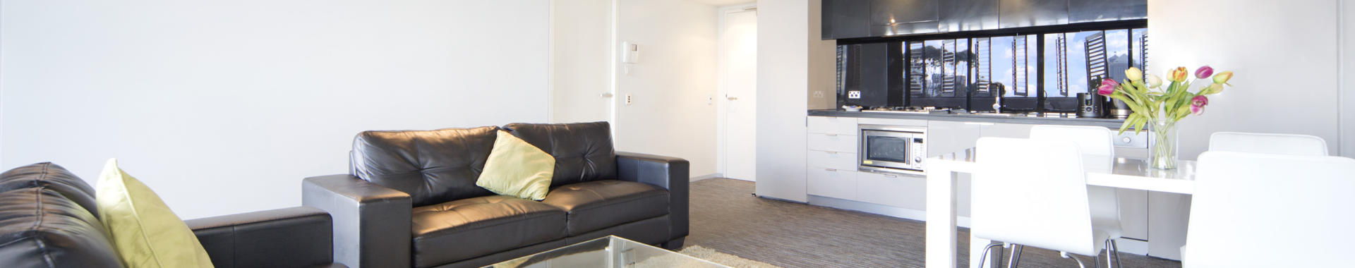 SurryHills Bourke 1 bed corporate apartment lounge