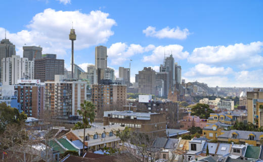 SurryHills Bourke 1 bed corporate apartment view