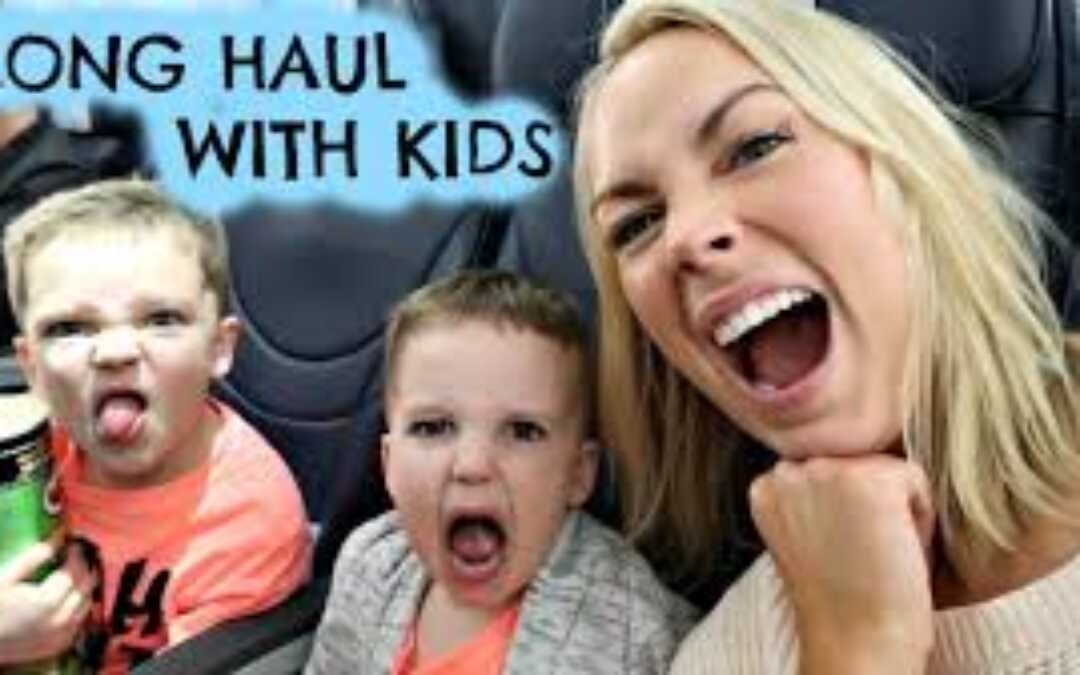 Top Tips for Long Haul Travel With Kids