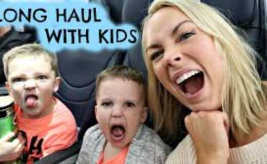 Tips for long-haul travel with kids
