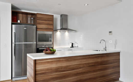 Perth, Adelaide Terrace Corporate Apartment kitchen